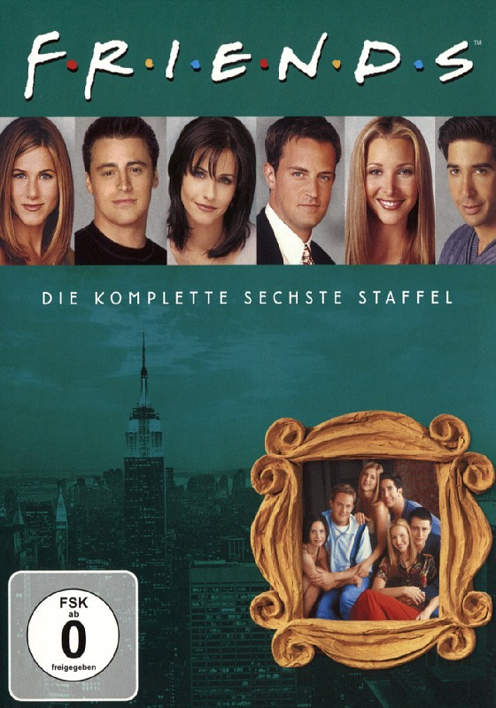 Friends - Box Set / Staffel 6  [4 DVDs] DVD Bild