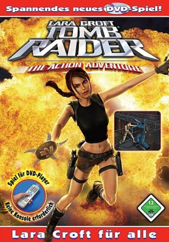 Lara Croft - Tomb Raider: DVD-Spiel DVD Bild