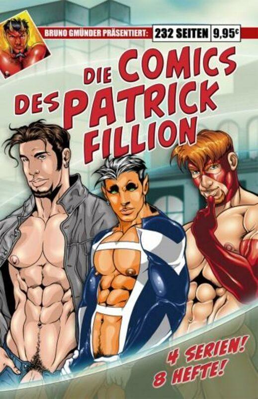 Die Comics des Patrick Fillion Gay Buch / Magazin Bild