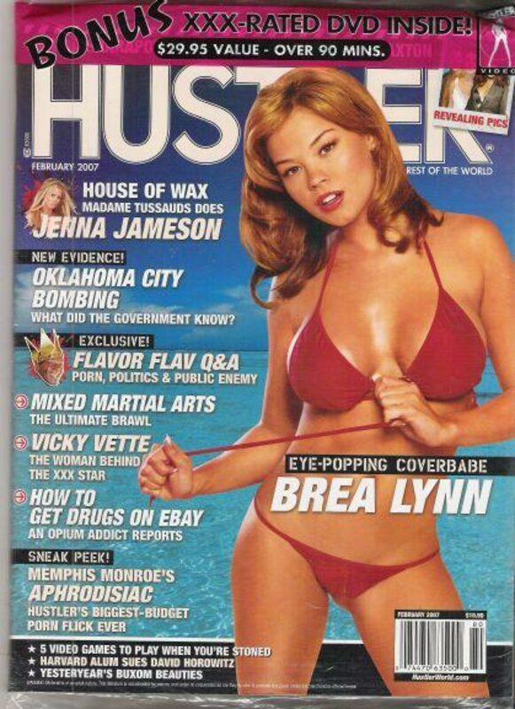 Hustler February 2007 mit DVD Magazin Bild