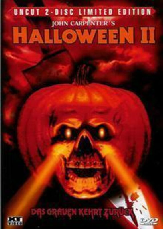 Halloween 2 - Uncut 2-Disc Limited Edition DVD Bild