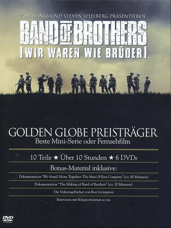 Band of Brothers - Box Set  [6 DVDs] DVD Bild