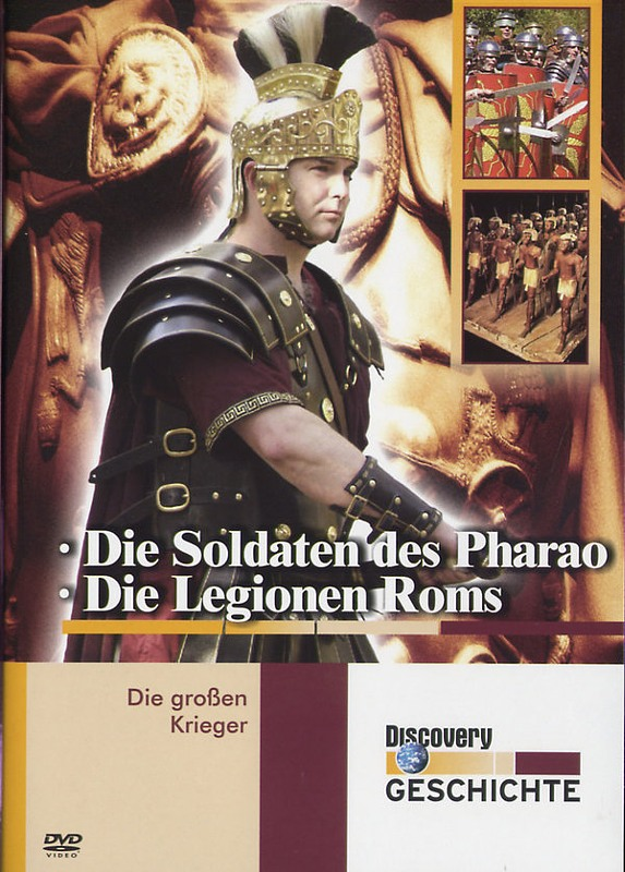 Die Großen Krieger - Die Soldaten des Pharao/... DVD Bild