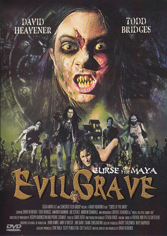 Evil Grave - Curse of the Maya DVD Bild