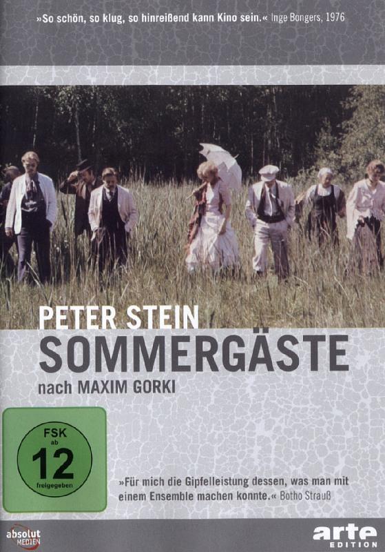 Maxim Gorki - Sommergäste DVD Bild