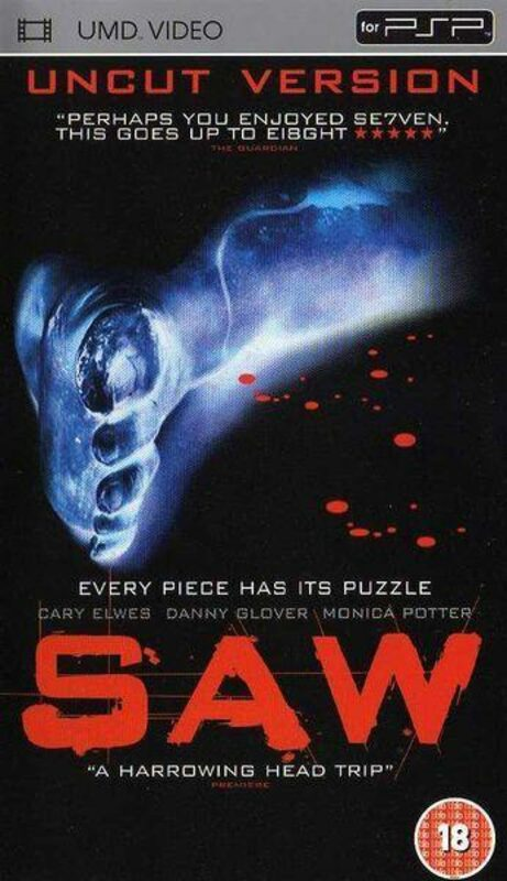 Saw - Uncut Version UK UMD-Video Bild