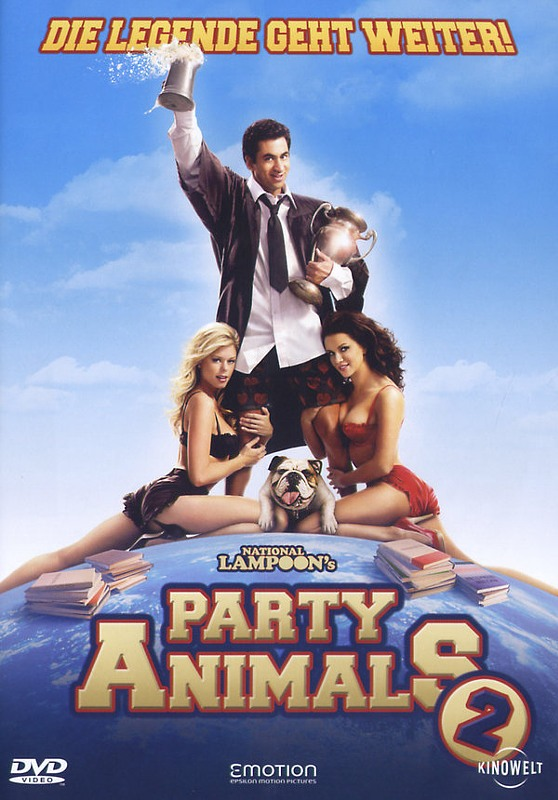 Party Animals 2 DVD Bild