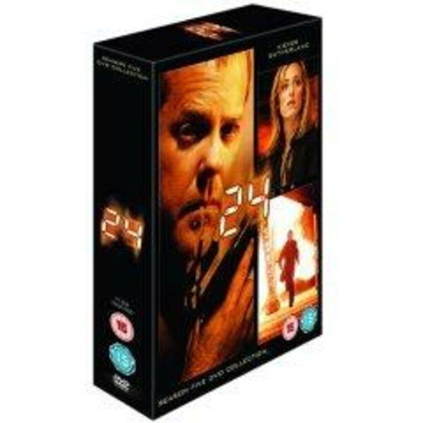 24-Season Five UK DVD Bild