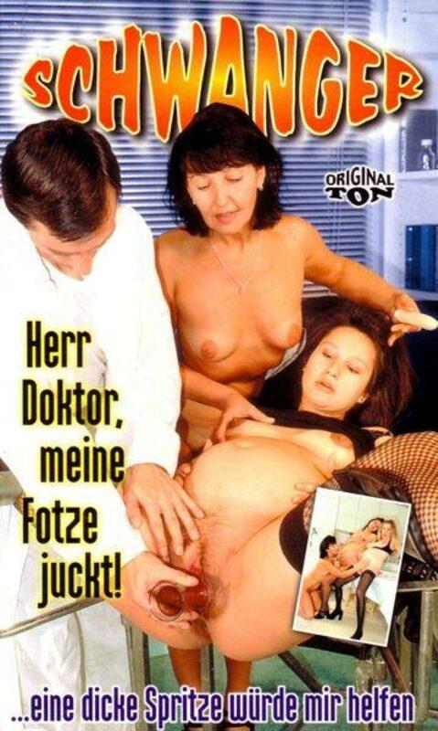Schwanger - Herr Doktor, meine Fotze juckt! VHS-Video Bild