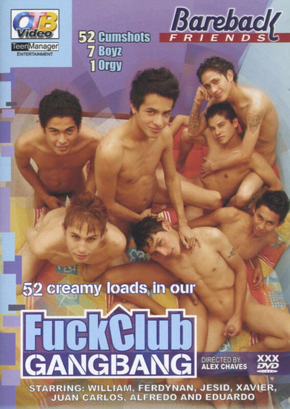 Fuck Club Gangbang Gay DVD Bild