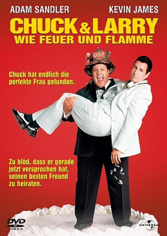 Chuck und Larry - Wie Feuer und Flamme DVD Bild