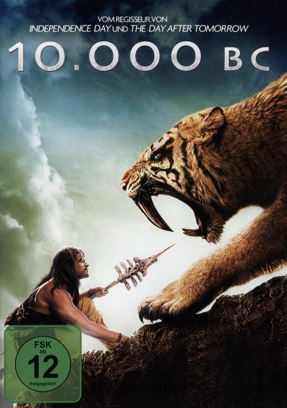 10.000 BC DVD Bild