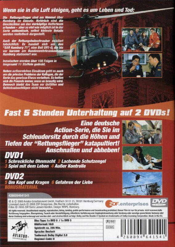 die rettungsflieger staffel 3 2 dvds film xjuggler dvd shop