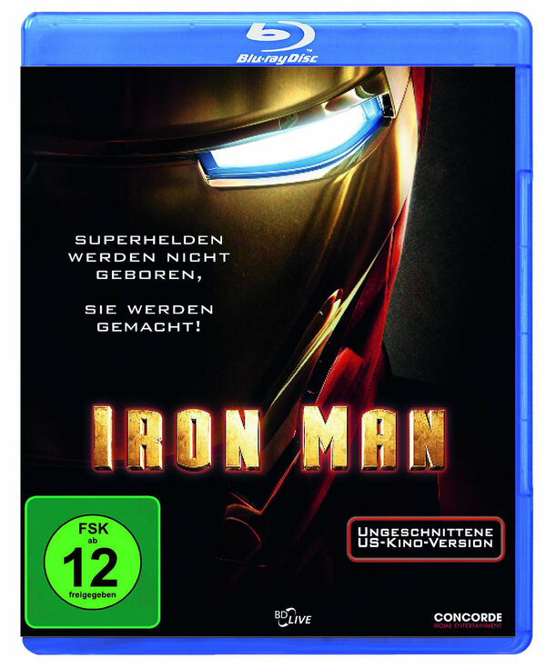 Iron Man Blu-ray Bild