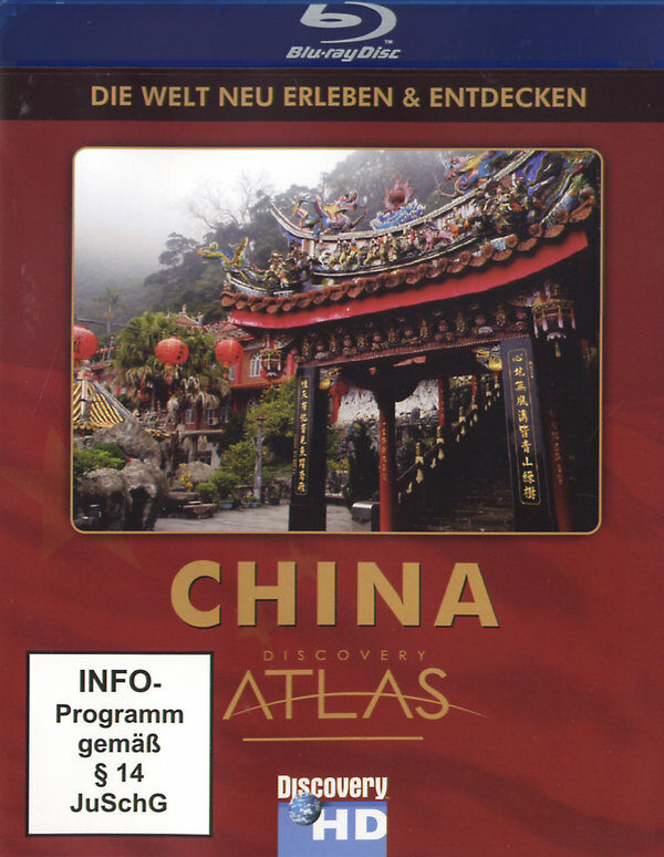 China - Discovery Atlas Blu-ray Bild