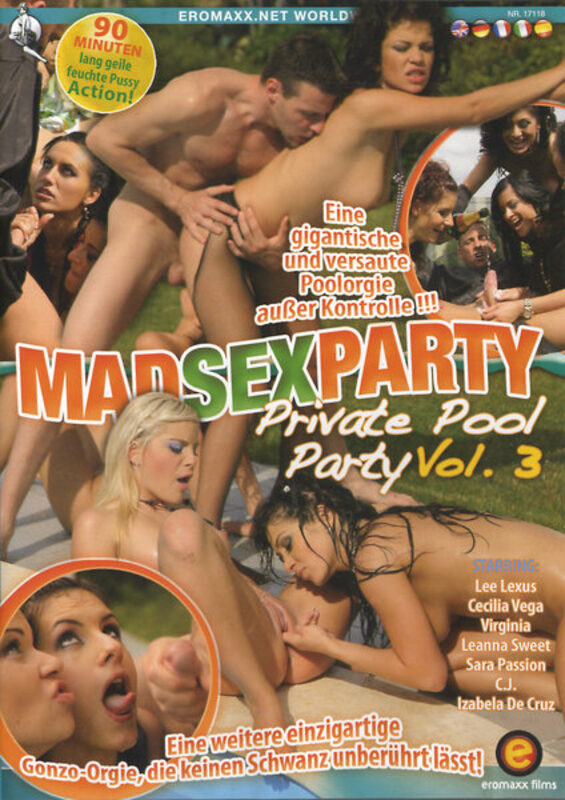 Mad Sex Party Private Pool Party 3 DVD by eromaxx