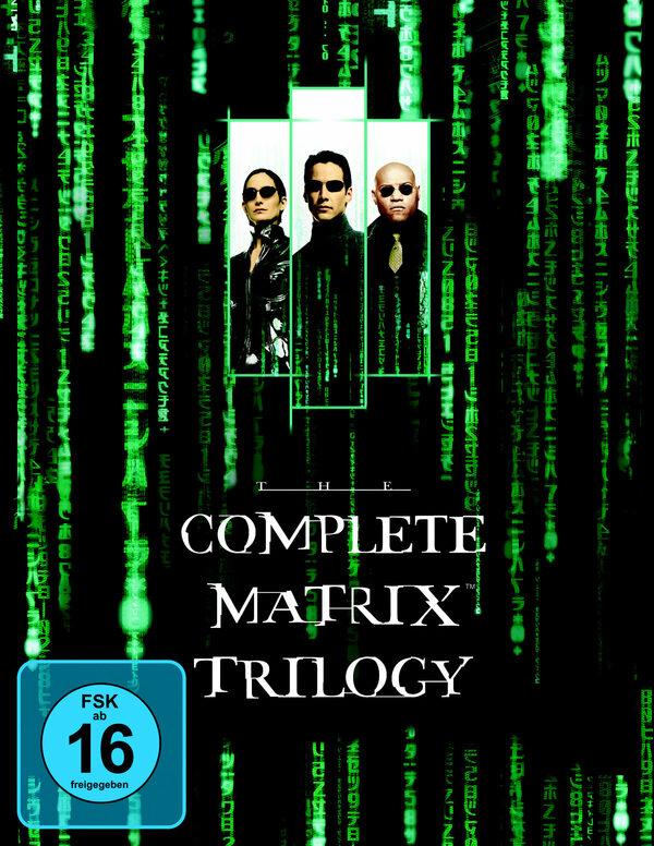 Matrix - The Complete Trilogy  [3 BRs] Blu-ray Bild