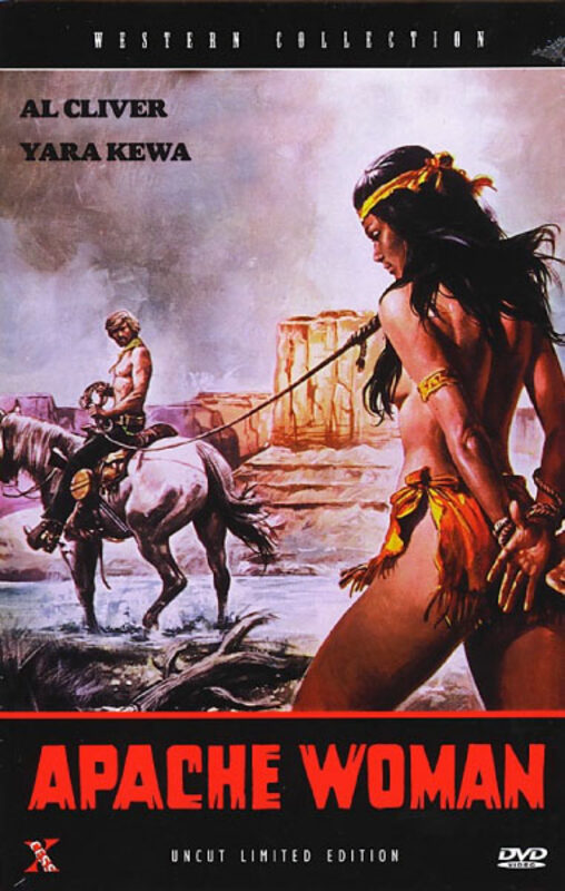 Apache Woman Große L.E. Hartbox  DVD Bild