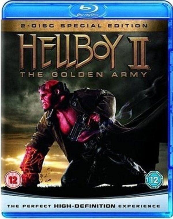 Hellboy 2: Die goldene Armee UK Blu-ray Bild