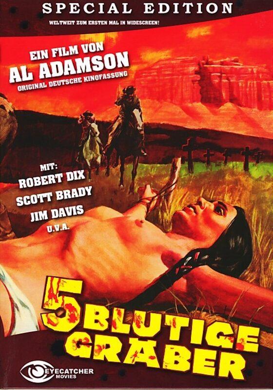 5 Blutige Gräber - Cover A DVD Bild