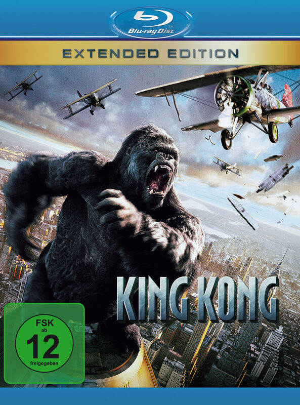 King Kong - Extended Edition Blu-ray Bild