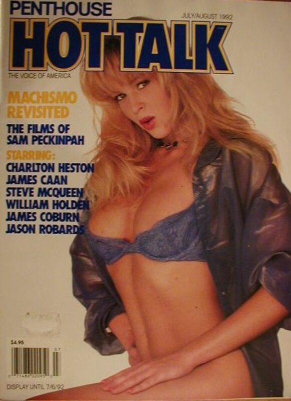 Penthouse Hot Talk 07/08-1992 Magazin Bild