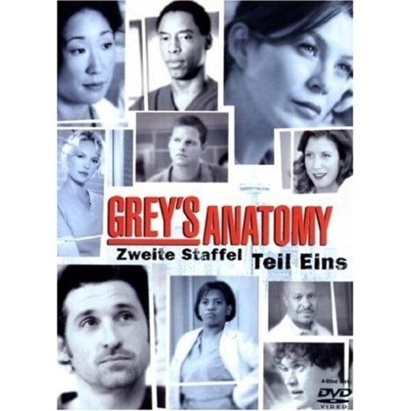 Grey's Anatomy - Die jungen Ärzte - Zweite Staffel Teil 1 (4DVDs) DVD Bild