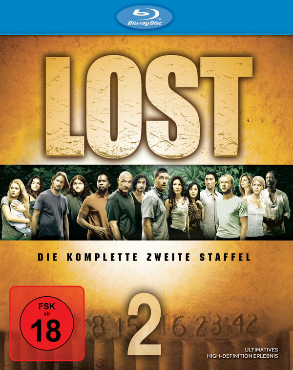 Lost - Staffel 2  [7 BRs] Blu-ray Bild