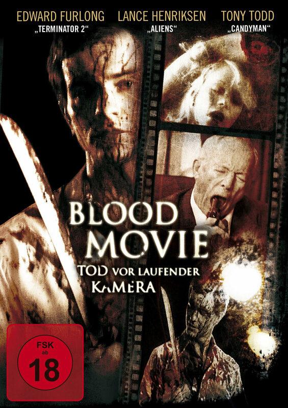 Blood Movie - Tod vor laufender Kamera DVD Bild