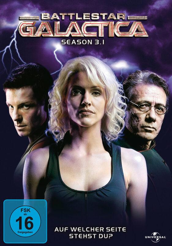Battlestar Galactica - Season 3.1  [3 DVDs] DVD Bild