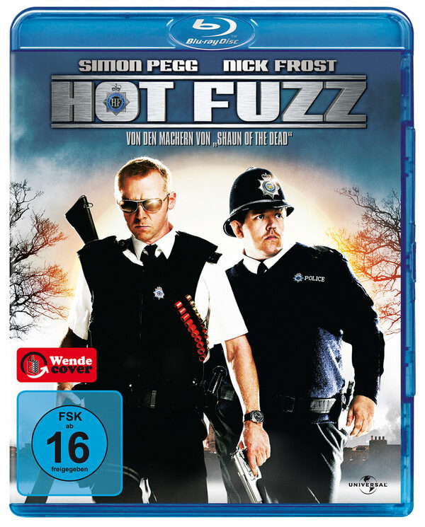 Hot Fuzz - Zwei abgewichste Profis Blu-ray Bild