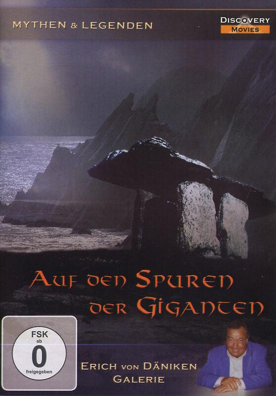 Auf den Spuren der Giganten DVD Bild