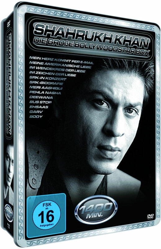 Shahrukh Khan - Die gr. Bollywood.. [MP] [2DVDs] DVD Bild
