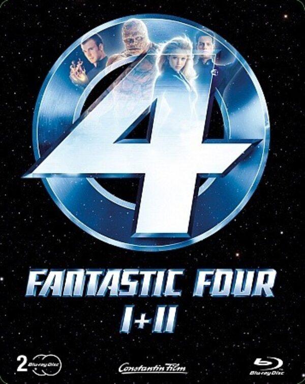 The Fantastic Four 1 und 2 - Limited Edition Blu-ray Bild