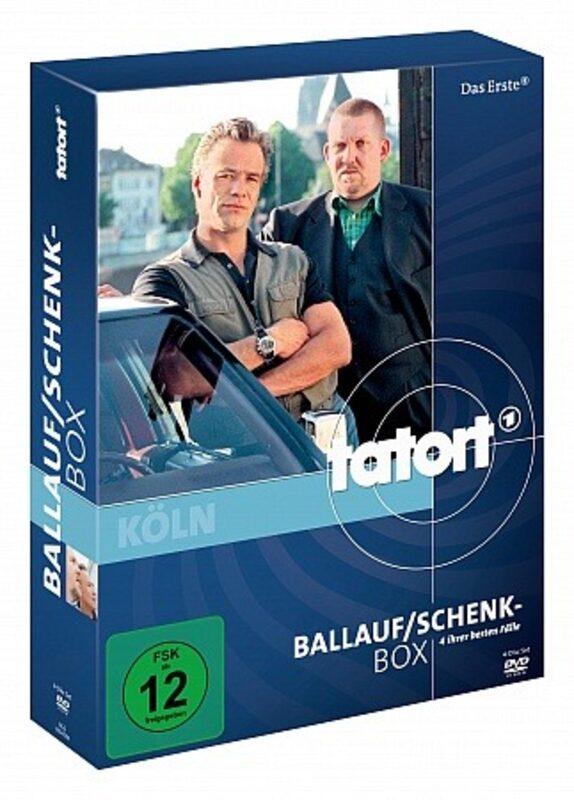 Tatort Box: Ballauf / Schenk DVD Bild
