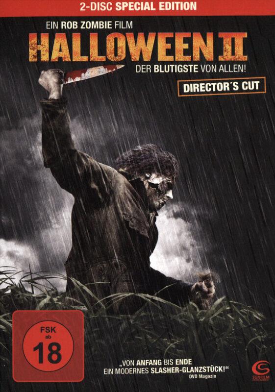 Halloween 2  [SE] [DC] [2 DVDs] DVD Bild
