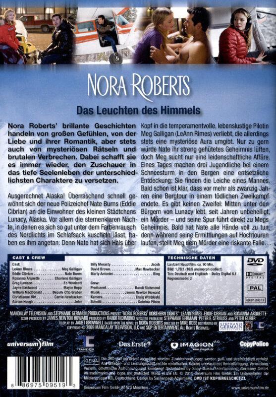 nora roberts das leuchten des himmels film xjuggler dvd shop. Black Bedroom Furniture Sets. Home Design Ideas