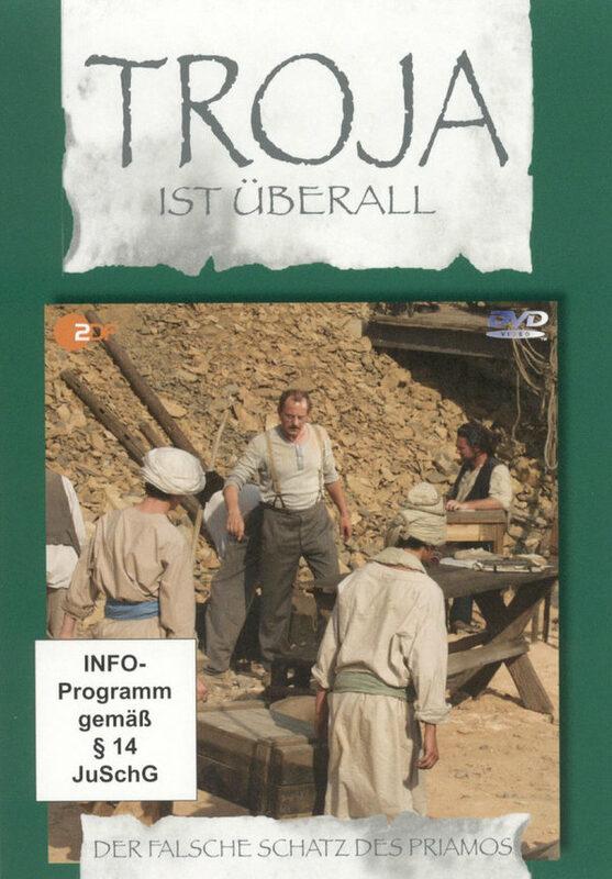 Troja ist überall 5 - Der falsche Schatz des Pr. DVD Bild