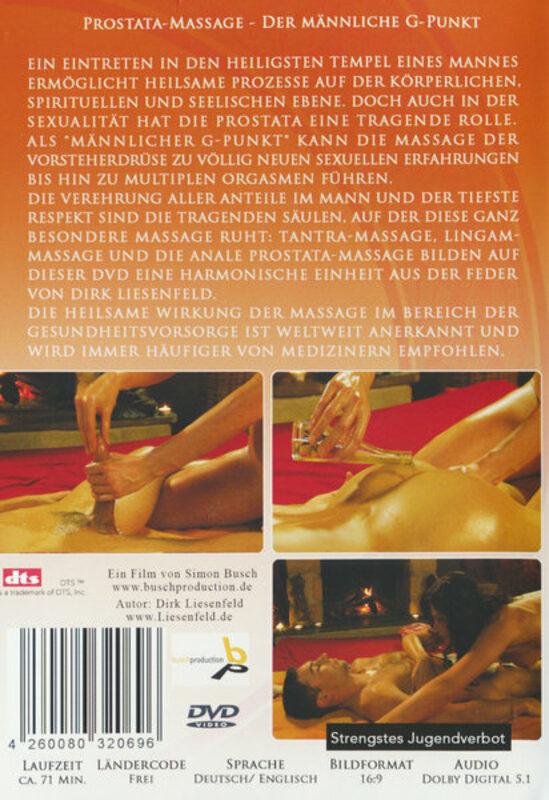 deutsche prostata massage