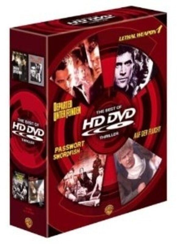 The Best Of HD DVD Thriller HD-DVD Bild