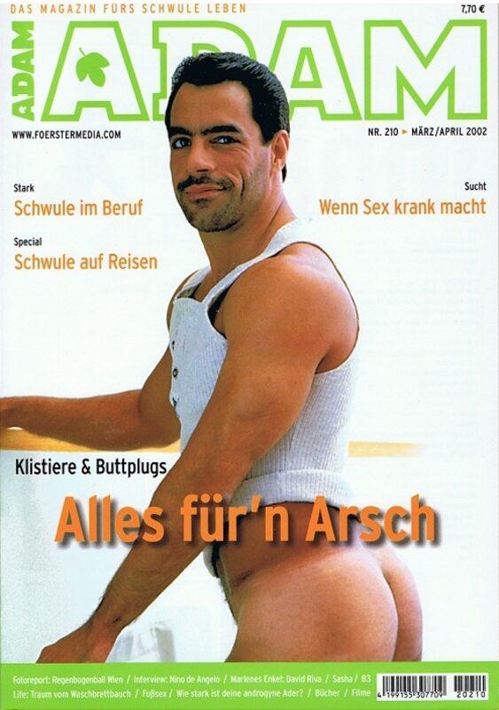 Adam 210 Gay Buch / Magazin Bild