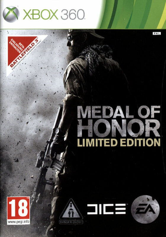 Medal of Honor - Limited Edition (Uncut AT) XBox 360 Bild
