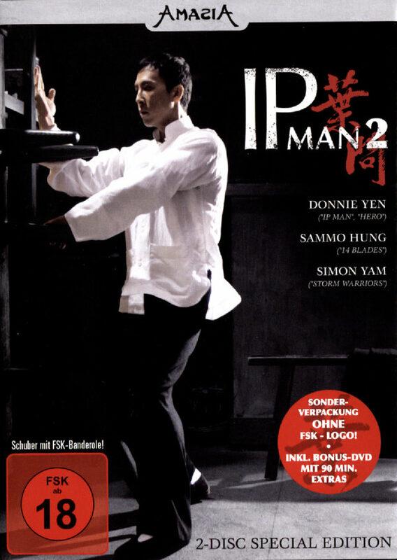 IP Man 2  [SE] [2 DVDs] DVD Bild