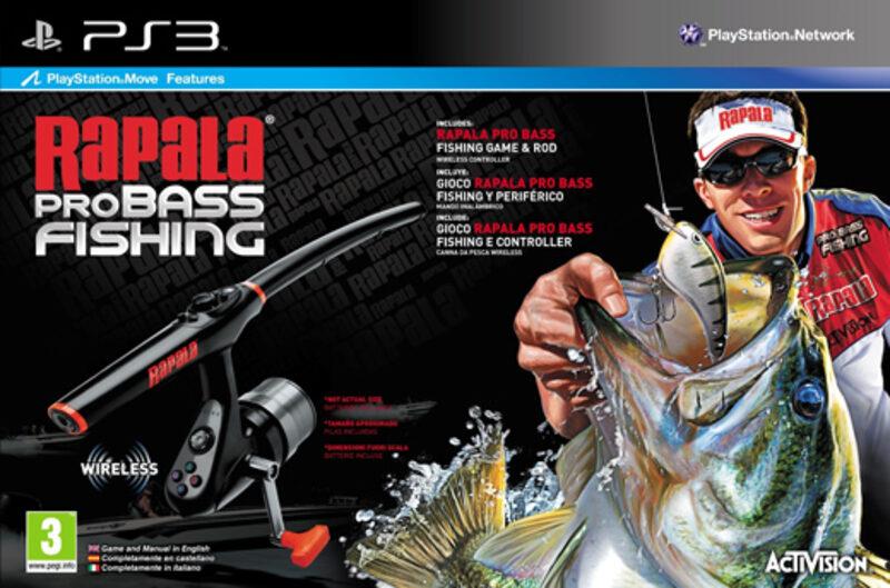 управление в rapala pro fishing