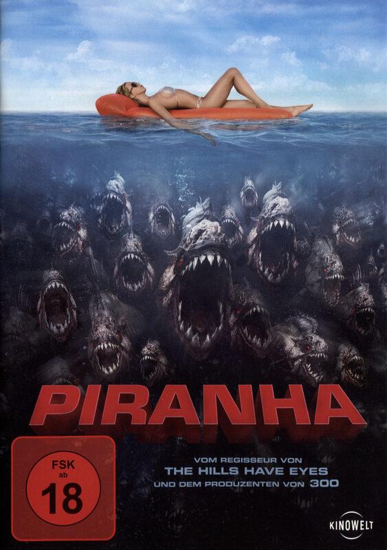 Piranha - Es gibt Fisch, Baby! DVD Bild