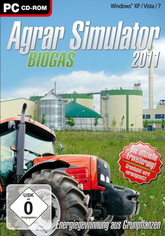 Agrar Simulator 2011: Biogas PC Bild
