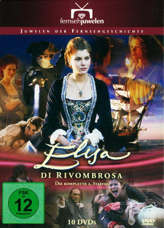 Elisa di Rivombrosa - Staffel 2  [10 DVDs] DVD Bild