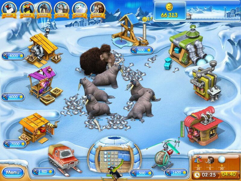 Farm Frenzy 3: Ice Age - Компьютерные игры. English.