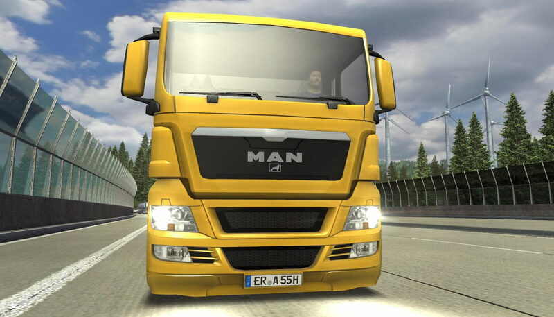 German Truck Simulator: Neue Spielversion V1.32-Demo, kostenloses Add-on. u