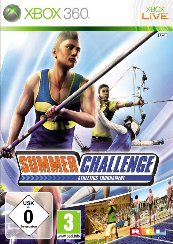 Summer Challenge Athletics Tournament (2010) PAL/ENG скачать торрент.